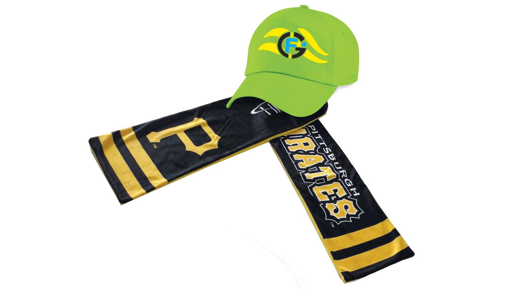 Cappelli e sciarpe personalizzate
