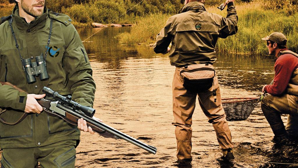 stampa abbigliamento personalizzato caccia e pesca