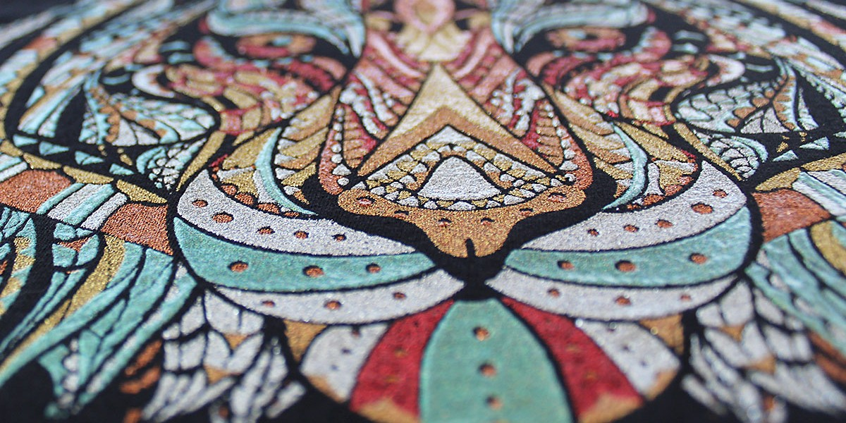 04 stampa glitter 5 colori particolare