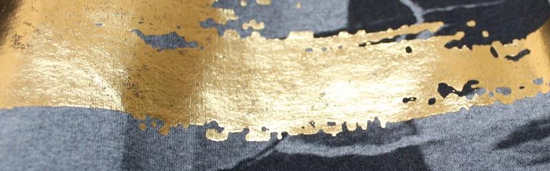 20 stampa con lamina oro