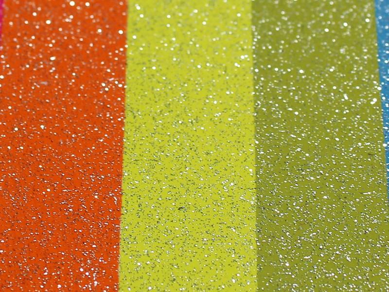 37 etichetta stampa glitter