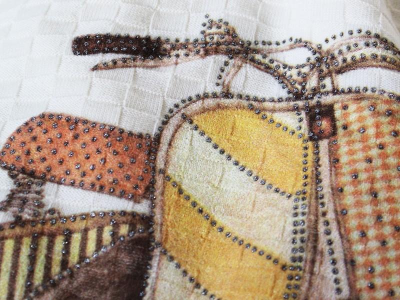 Lambretta con effetto borchie