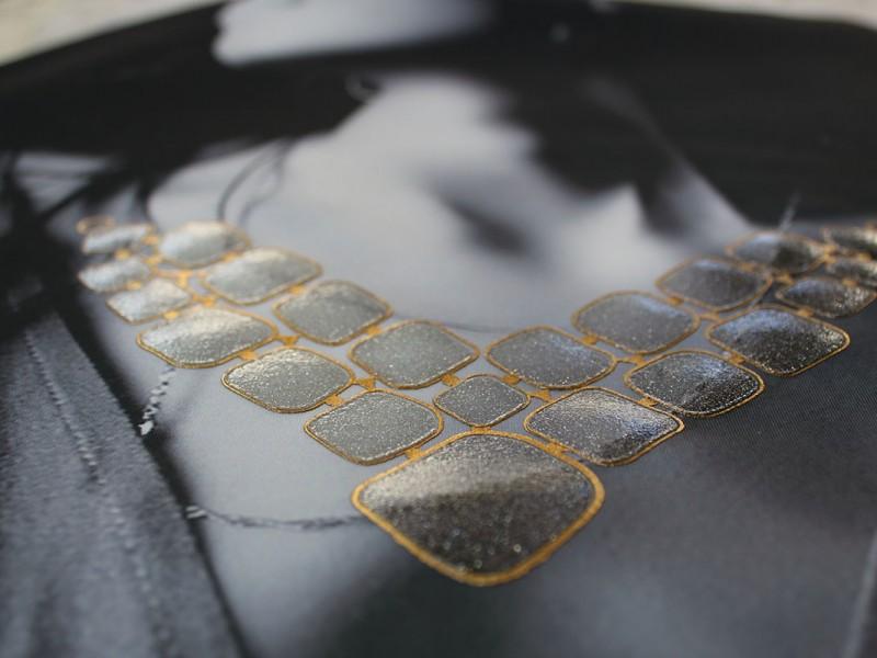 Stampa moda effetto gioiello