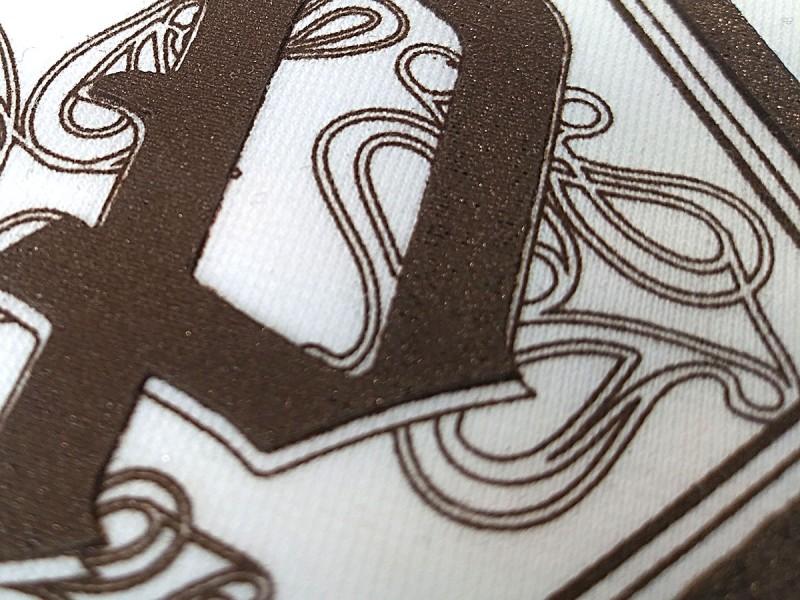 Stampa serigrafica a rilievo