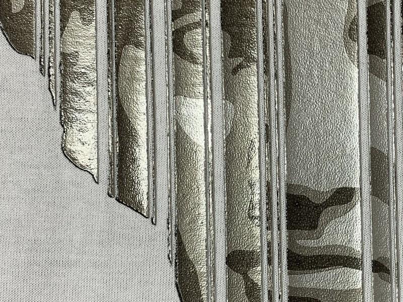 stampa a spessore effetto metallico